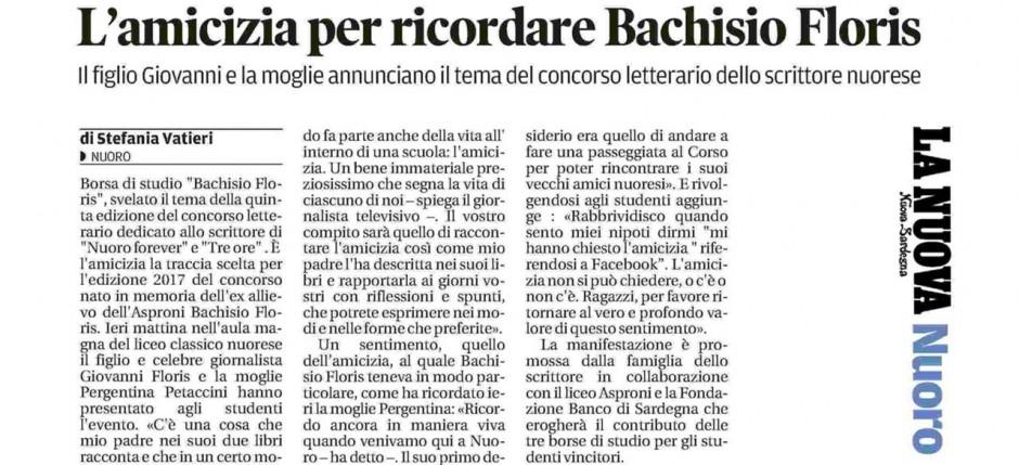 borsa-bachisio-floris_2017-la-nuova-sardegna_cover